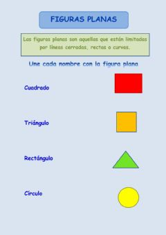 Interactive worksheet Figuras planas
