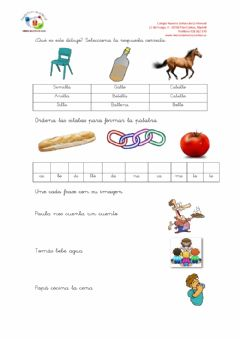 Interactive worksheet Pipo 3