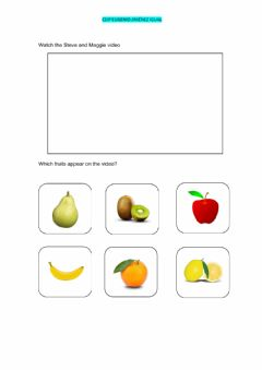 Interactive worksheet Infant education revision