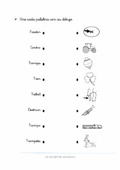 Interactive worksheet Flechas TR