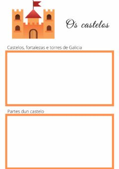 Interactive worksheet Os castelos