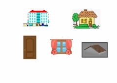 Interactive worksheet Parts of a house