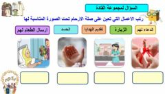 Interactive worksheet صلة الارحام