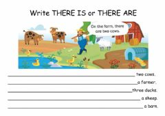 Ficha interactiva How many animals are there?