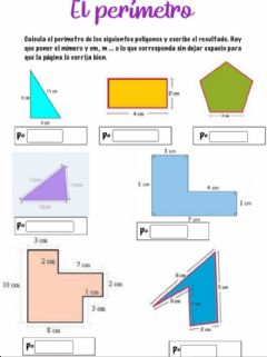 Interactive worksheet Perímetro