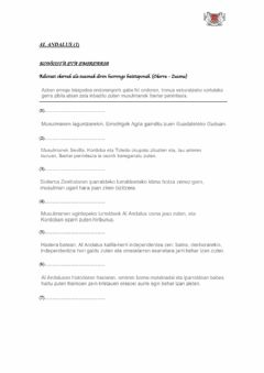 Interactive worksheet (DBH 2) Al Andalus (1)