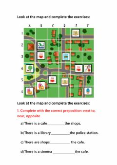 Ficha interactiva There is-there re+ prepositions