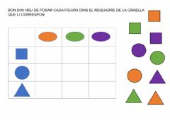 Interactive worksheet Graella de doble entrada