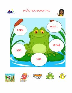 Interactive worksheet Palabras con s