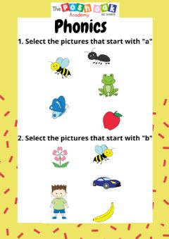 Interactive worksheet Beginning sounds a-d