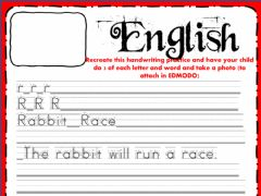 Interactive worksheet Week 17 - Wednesday - English