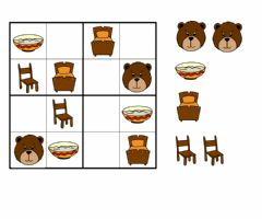 Interactive worksheet Goldilocks sudoku