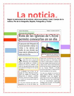 Ficha interactiva La noticia