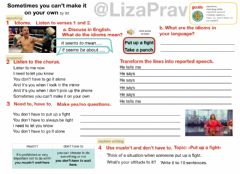 Interactive worksheet Sometimes you can't make it on your own by U2