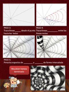 Interactive worksheet Op Art