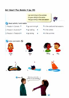 Interactive worksheet Get Smart Plus - Module 4 (pg 39)