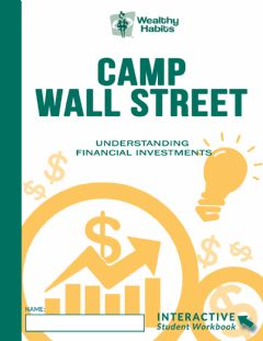 Interactive worksheet Wealthy Habits Camp Wall Street Name