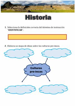 Interactive worksheet GTA Historia