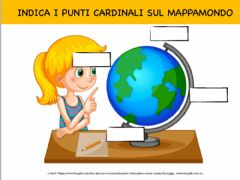 Interactive worksheet I PUNTI CARDINALI