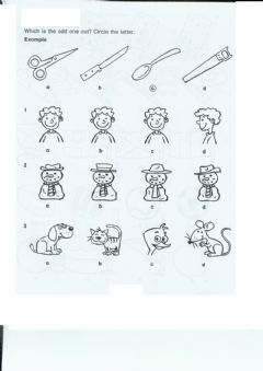 Interactive worksheet Worksheet on non verbal-reasoning