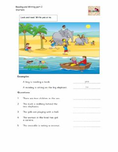 Interactive worksheet Starters reading and writing part 2