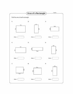 Interactive worksheet Area - Finding area Day 3