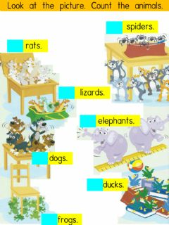 Interactive worksheet Pet Shows