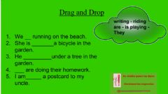 Interactive worksheet Drag and Drop