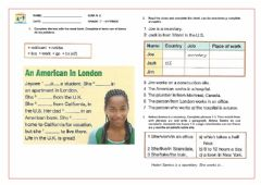 Interactive worksheet Simple present with he, she, it exercise