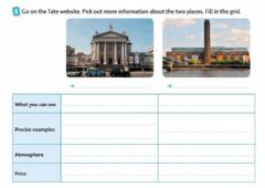 Interactive worksheet Unit 4 Teen Time 5e WB page 70