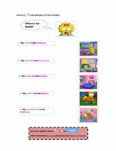 Interactive worksheet 1-MATCHING ACTIVITY