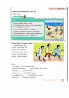 Interactive worksheet Family and Friends 3 Unit 9