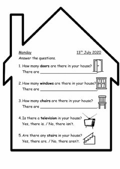Interactive worksheet 6: The Old House