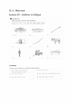 Interactive worksheet There was - there were