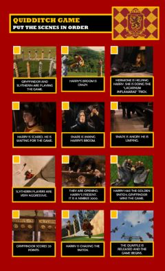 Interactive worksheet -Harry Potter and the Philosopher's Stone- Part 10