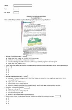 Interactive worksheet Ide Pokok Paragraf