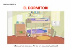 Interactive worksheet El dormitori