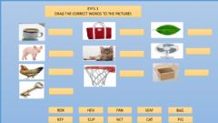 Interactive worksheet Spelling