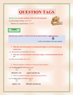Interactive worksheet Questiuon tags