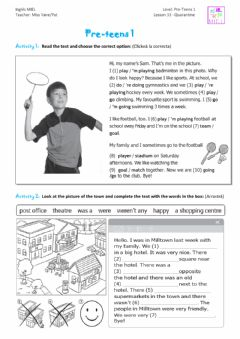 Interactive worksheet Test