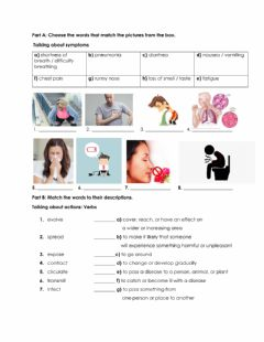 Ficha interactiva Covid-19 Vocabulary