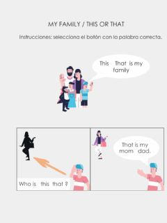Ficha interactiva This - that is my family