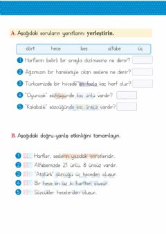 Interactive worksheet Harf Bilgisi