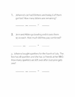 Interactive worksheet Add and Sub 2