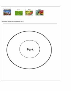 Interactive worksheet Circle Map
