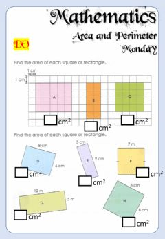 Interactive worksheet Week 21 - Math - Monday 6