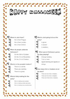 Interactive worksheet This is britain halloween adapted