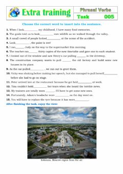 Interactive worksheet Extra Training 005