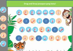 Interactive worksheet Bahasa arab tahun 1