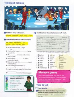 Interactive worksheet Talent and hobbies